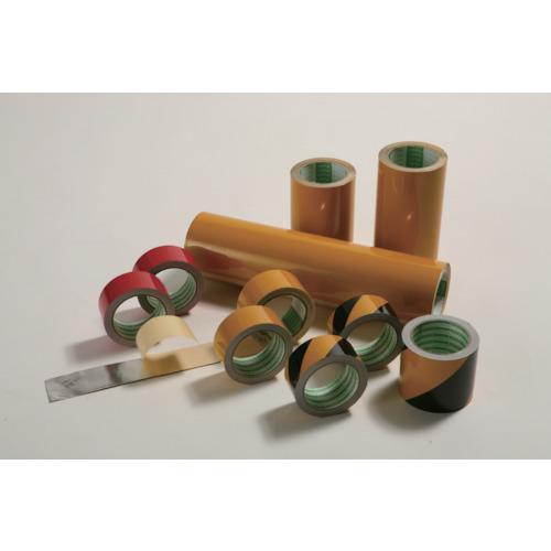 ■日東エルマテ 粗面反射テープ 400mmx10m 黄 SHT-400Y [TR-3777456]