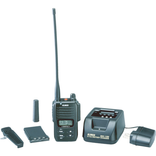 ■アルインコ デジタル登録局無線機1Wタイプ薄型セット DJDP10A [TR-3853730]