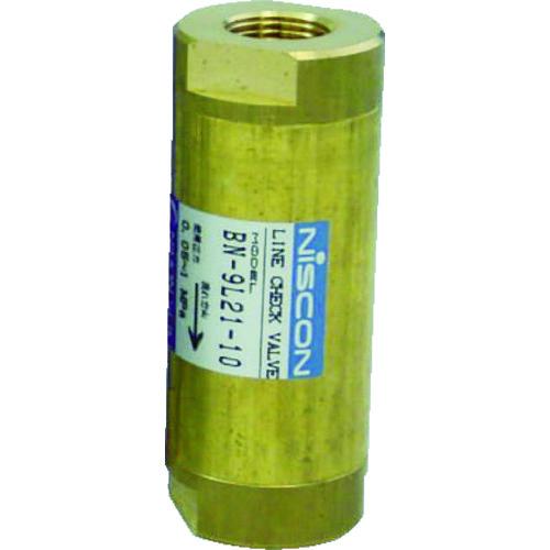 ■日本精器 ラインチェック弁 10A BN-9L21-10 日本精器(株)[TR-3954463]
