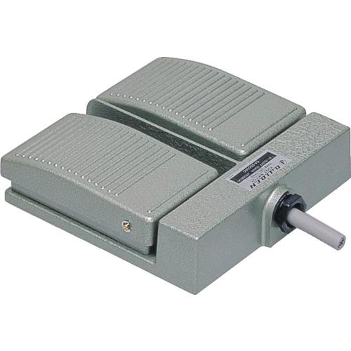 ■オジデン フットスイッチ アルミダイカスト製ミニ形 電気定格6A-250VAC   〔品番:OFL-TV-S3〕[TR-3966071]