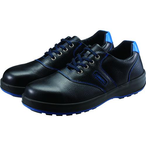 ■シモン 安全靴 短靴 SL11-BL黒/ブルー 24.0cm SL11BL-24.0 (株)シモン[TR-4007280]