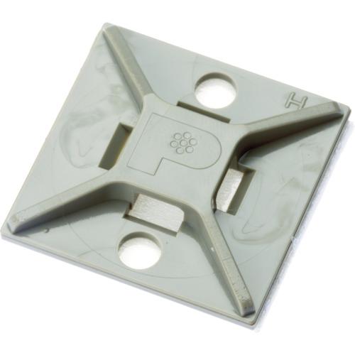 ■パンドウイット マウントベース ゴム系粘着テープ付き テレホングレー 500個入 ABM2S-A-D14 [TR-4036662]