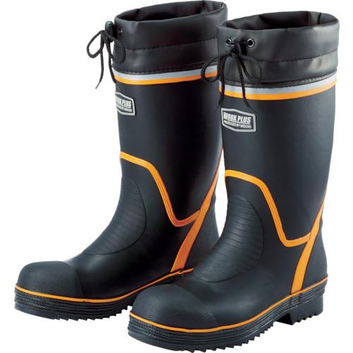 ■ミドリ安全 踏抜き防止板・ワイド樹脂先芯入り長靴 766NP-4 24.5CM〔品番:766NP-4-24.5〕[TR-4058119]