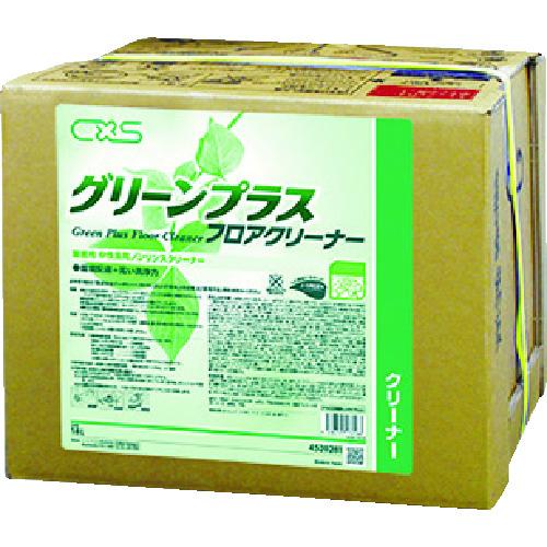 ■シーバイエス 洗浄剤 グリーンプラスフロアクリーナー 18L〔品番:4520281〕[TR-4096932]