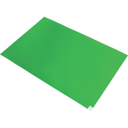 ■ブラストン 弱粘着マット 緑 (10枚入)  〔品番:BSC-84003-G〕[TR-4127927]