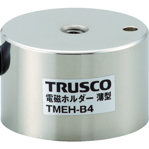 ■TRUSCO 電磁ホルダー 薄型 Φ40XH25〔品番:TMEH-B4〕[TR-4158555]