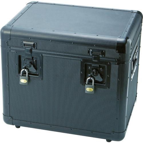 ■TRUSCO 万能アルミ保管箱 黒 480X360X410 TAC-480BK トラスコ中山(株)[TR-4162943]