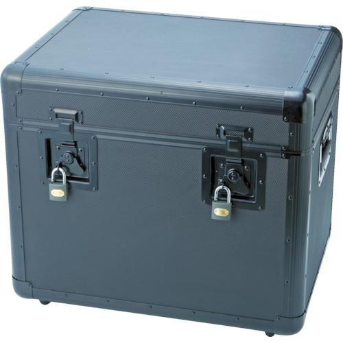 ■TRUSCO 万能アルミ保管箱 黒 543X410X457  〔品番:TAC-540BK〕[TR-4162951]【大型・重量物・個人宅配送不可】