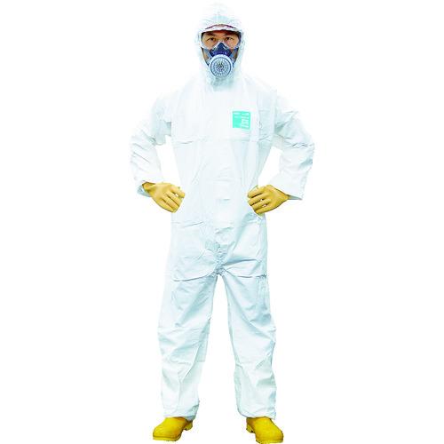■シゲマツ 使い捨て化学防護服 MG2000P L(10着入り) MG2000P-L (株)重松製作所[TR-4223691]