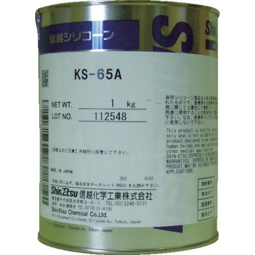 信越化学工業 離型剤 ■信越 バルブシール用オイルコンパウンド 品番:KS65A-1 1kg 高級な 豪華な TR-4230817