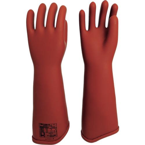 ■ワタベ 電気用ゴム手袋NU型大 540-L 渡部工業(株)[TR-4299639]