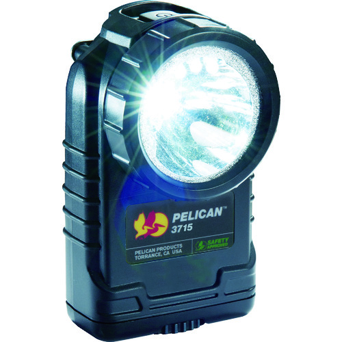 ■PELICAN 3715 LEDフラッシュライト 黒  〔品番:3715LEDBK〕[TR-4320689]
