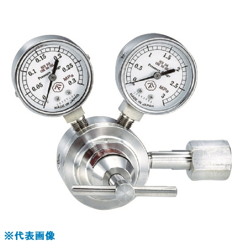 ■ヤマト 腐食性ガス用圧力調整器 YS-1 YS-1-R-1201-1404-H2S ヤマト産業(株)[TR-4346939]