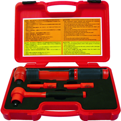 ■Tech-EV 絶縁工具セット ミニ 4点セット TEVSETMINI [TR-4361211]