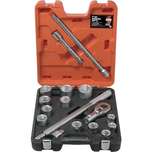 【メーカー直売】 SLX17 [TR-4380703]:セミプロDIY店ファースト ?バーコ ソケットセット 3/4 差込角19mm-DIY・工具