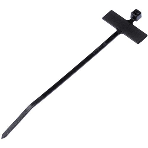 ■パンドウイット 旗型タイプナイロン結束バンド 耐候性黒 (1000本入) PLM2M-M0 [TR-4382790]