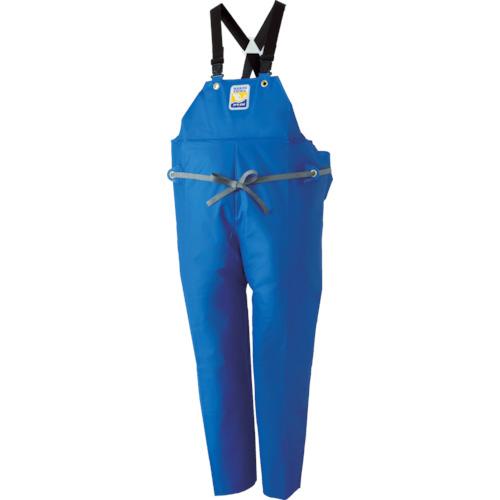 ■ロゴス マリンエクセル 胸当て付きズボン膝当て付きサスペンダー式 ブルー L〔品番:12063152〕[TR-4415051]