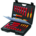 ■KNIPEX 絶縁工具セット 26点セット 989912 KNIPEX社[TR-4470141]