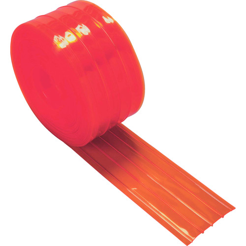 ■TRUSCO ストリップ型リブ付き間仕切りシート防虫オレンジ2X200X30M TSRBO-220-30 トラスコ中山(株)[TR-4473868]