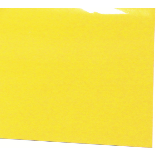■ミヅシマ ビニール長マット 平板 910mmx20m イエロー  〔品番:411-0363〕[TR-4497147]【大型・重量物・個人宅配送不可】