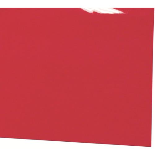 ■ミヅシマ ビニール長マット 平板 910mmx20m レッド  〔品番:411-0364〕[TR-4497155]【大型・重量物・個人宅配送不可】