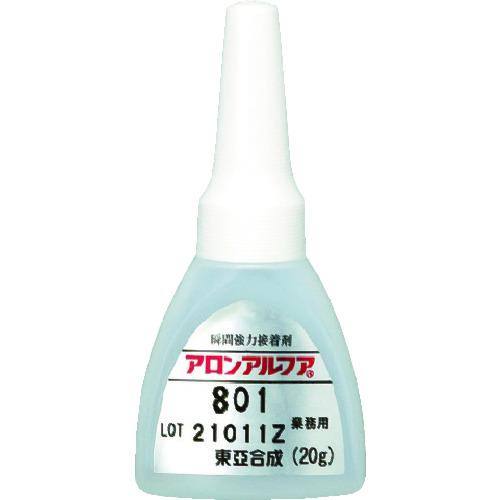 東亜合成 株 接着剤 補修剤 瞬間接着剤 TR-4519213 20g ■アロン 市場 アロンアルフア801扁平AL 新作販売 AA801-AL-20