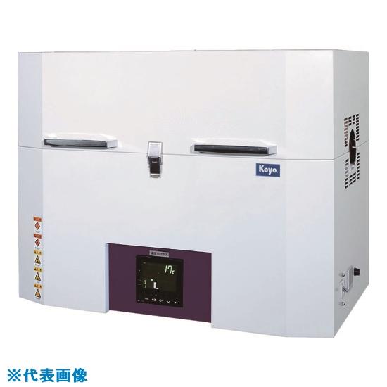 ■光洋 小型チューブ炉 1100℃シリーズ 1ゾーン制御タイプ 温度調節計仕様 KTF050N1 [TR-4528859] [送料別途お見積り]