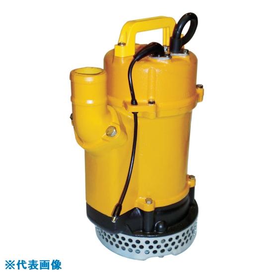 ■桜川 静電容量式自動水中ポンプ UEX形 200V 50HZ UEX-233A [TR-4529405] [個人宅配送不可]