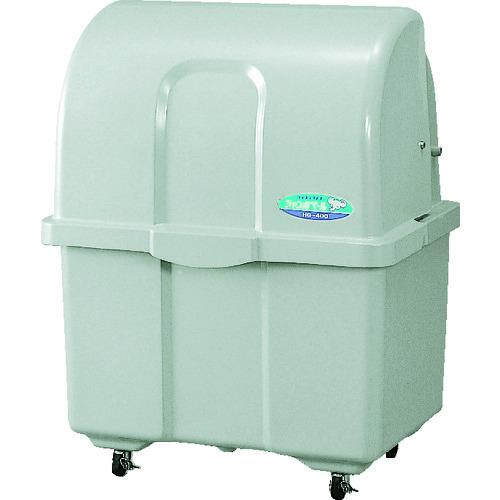 ■カイスイマレン ゴミ箱 ジャンボペール HG400C 単色 キャスター付  〔品番:HG400C〕[TR-4537360]【大型・重量物・個人宅配送不可】