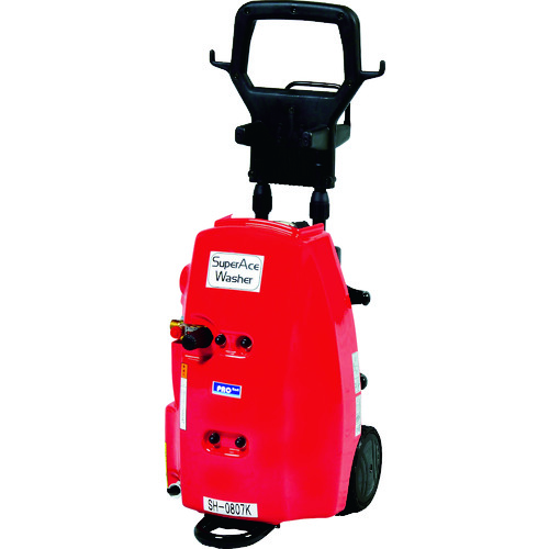 ■スーパー工業 モーター式 高圧洗浄機 SH-0807K-A(100V型) スーパー工業(株)[TR-4537530] [個人宅配送不可]