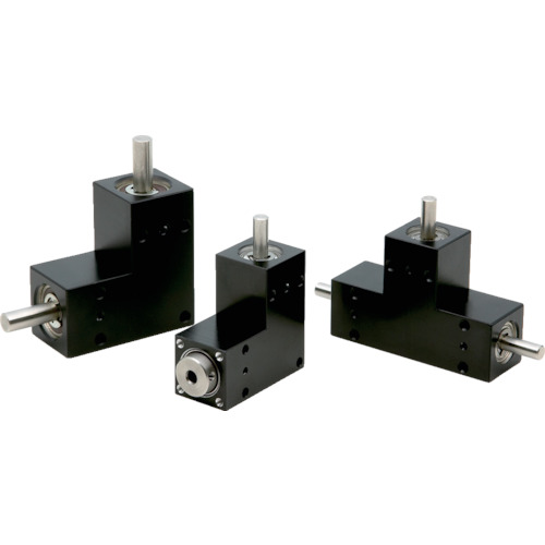 ■KG BOX L形 減速比1 軸径4 BS45L-001 協育歯車工業[TR-4562216] [送料別途お見積り]