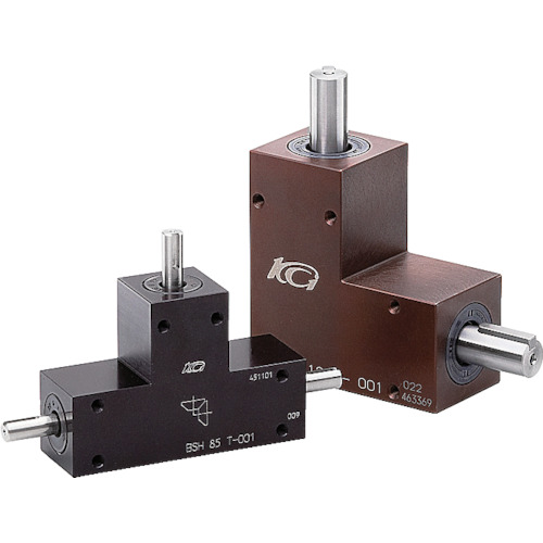 ■KG BOX L形 減速比1 軸径15 BSH140L-001 協育歯車工業[TR-4562470] [送料別途お見積り]