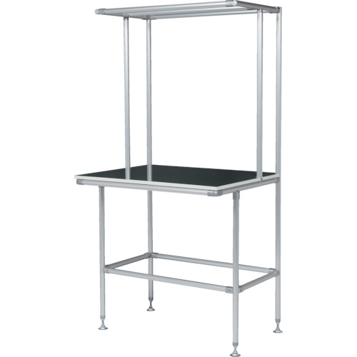 ■SUS セル生産作業台 棚板・作業ボードあり GFTR2880010 SUS(株)[TR-4565711]