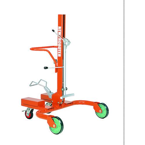 ■タイユー ドラム缶運搬車 ロボッターライト パレット型300KG  〔品番:RC-02〕直送[TR-4568435]【大型・重量物・送料別途お見積り】