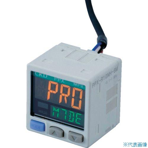 ■CKD デジタル圧力センサ PPX-R01P-6M CKD(株)[TR-4599543]