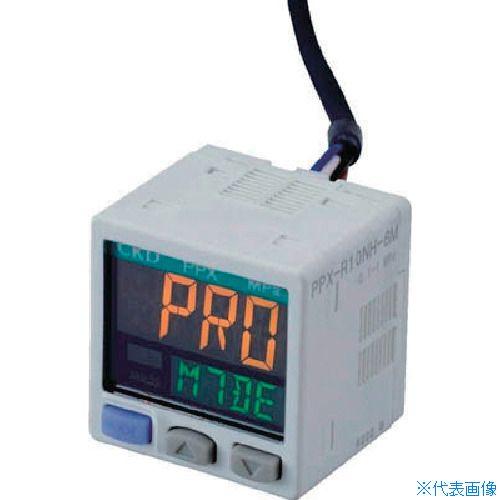 ■CKD デジタル圧力センサ PPX-R10N-6M CKD(株)[TR-4599551]