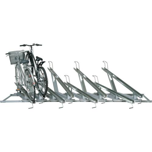 ■タクボ スライドキーパー 10台用高低ラック SRZ1N-10 (株)田窪工業所[TR-4615182] [送料別途お見積り]