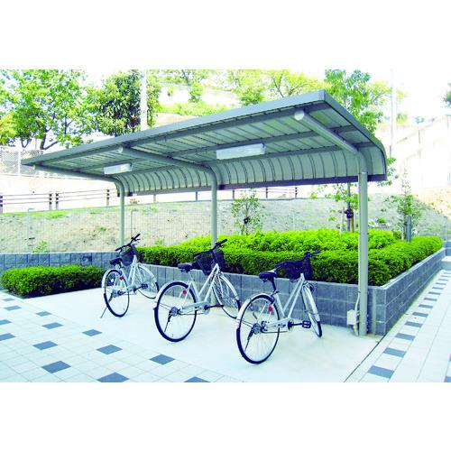■ダイケン 自転車置場サイクルロビー 基準型スチール 間口2550 CY-LSE25G ダイケン[TR-4619056] [送料別途お見積り]