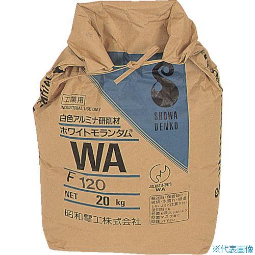 ■ニッチュー エアーブラストマシン用研削材 ホワイトアルミナ(20KG入) WAF60 (株)ニッチュー[TR-4640802] [送料別途お見積り]