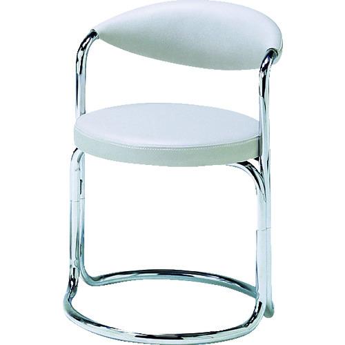 ■ミズノ 簡易応接セット用椅子(アイボリー) MK-717 (株)ミズノ[TR-4656415] [個人宅配送不可]
