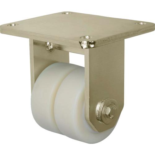 ■シシク 低床重荷重用双輪キャスター 固定 100径 BSD-GSPO-100K [TR-4660455] [送料別途お見積り]