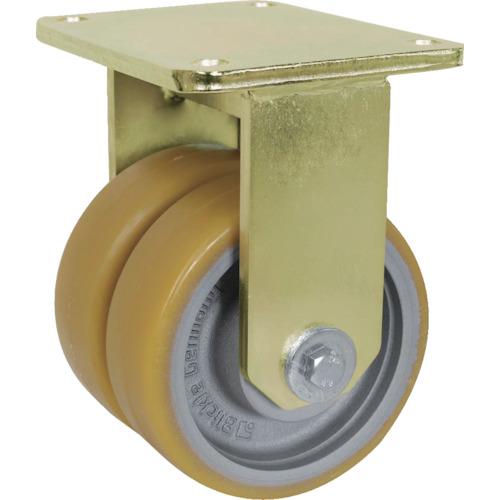 ■シシク 重荷重用キャスター 固定 150径 ウレタン車輪  〔品番:BSD-GTH-150K-35〕[TR-4660471]【送料別途お見積り】