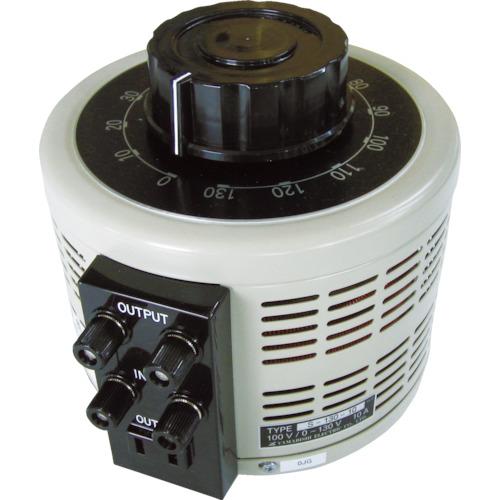 ■山菱 ボルトスライダー据置型 小容量タイプ 最大電流15A 入力電圧100V〔品番:S-130-15〕[TR-4661117]【個人宅配送不可】