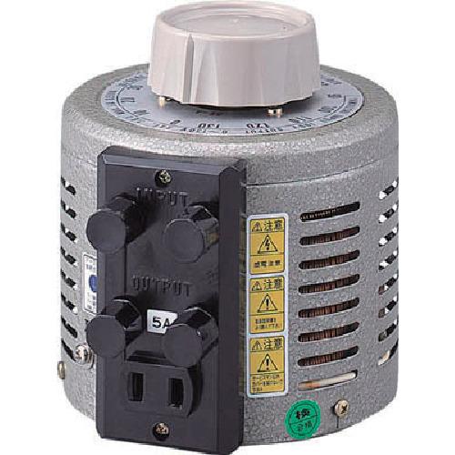 ■山菱 ボルトスライダー据置型 小容量タイプ 最大電流20A 入力電圧100V〔品番:S-130-20〕[TR-4661125]【個人宅配送不可】