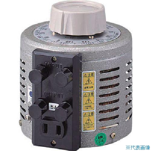 ■山菱 ボルトスライダー据置型 大容量タイプ 最大電流1A 入力電圧200V〔品番:V-260-1〕[TR-4661176]【個人宅配送不可】