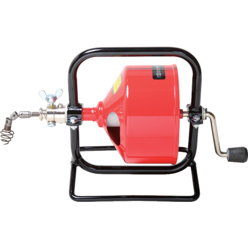 ■ヤスダ 排水管掃除機F3型スタンド型  〔品番:F3-8-9〕[TR-4664621]【送料別途お見積り】