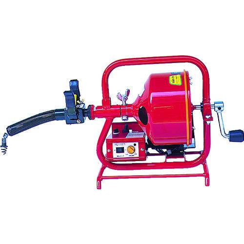 ■ヤスダ 排水管掃除機FX3型電動  〔品番:FX3-8-9〕直送元[TR-4664761]【個人宅配送不可】