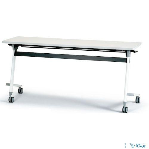 ■アイリスチトセ フライングテーブル 1500×600×700 ホワイト CFVA20-W [TR-4710088] [送料別途お見積り]