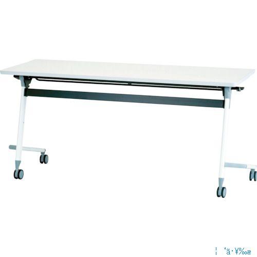 ■アイリスチトセ フライングテーブル 1800×600×700 ホワイト CFVA40-W [TR-4710142] [送料別途お見積り]
