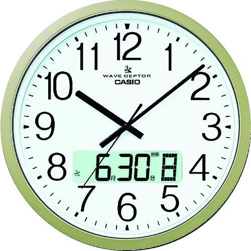 ■カシオ 電波掛け時計 直径380mm IC-4100J-9JF カシオ計算機(株)[TR-4723236]